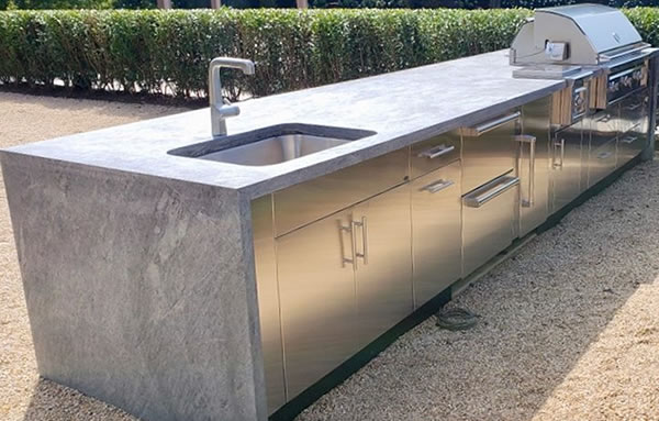 Soapstone Outdoor Kitchens