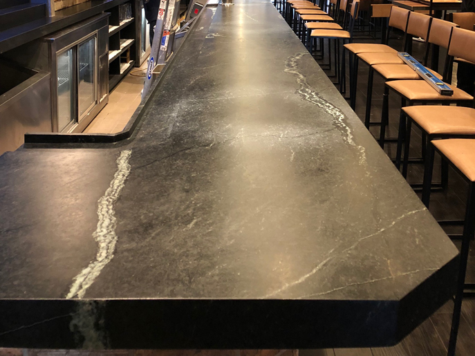 Soapstone Table and Bar Top