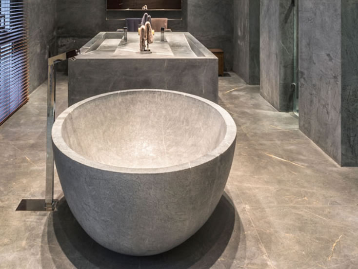 Soapstone Tub